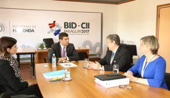 Ministro Peña coordinó la agenda y efectuó un repaso de los temas de las Asambleas del BID-CII
