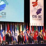 Santiago Peña asumió la presidencia de la Asamblea de Gobernadores del BID, por aclamación