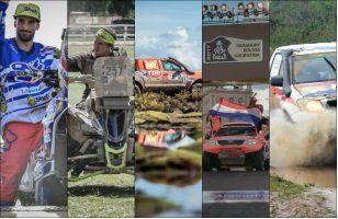 No hay adversidad climática que pueda contra los paraguayos en el Dakar